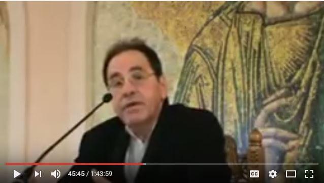 Διάλεξη του Γιώργου Παύλου με θέμα «Ελληνισμός, Παγκοσμιοποίηση και Ορθoδοξία» (Γλυφάδα 2016)